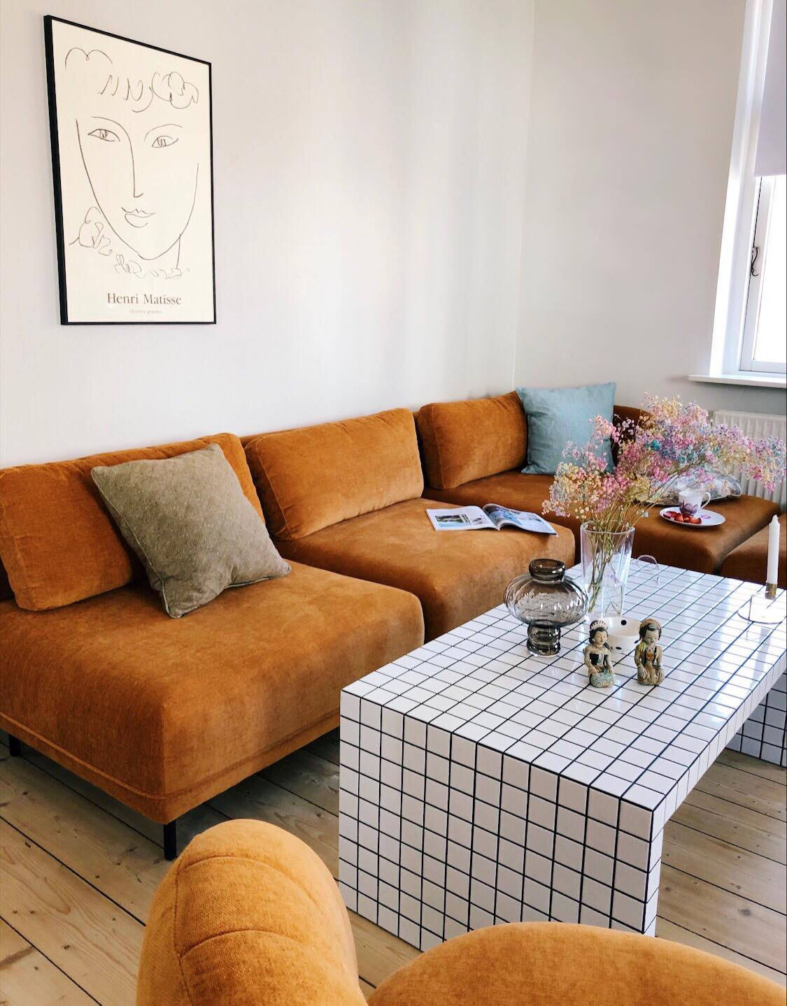 Vores Nye Sofa Fra Sofakompagniet Christine Delmar